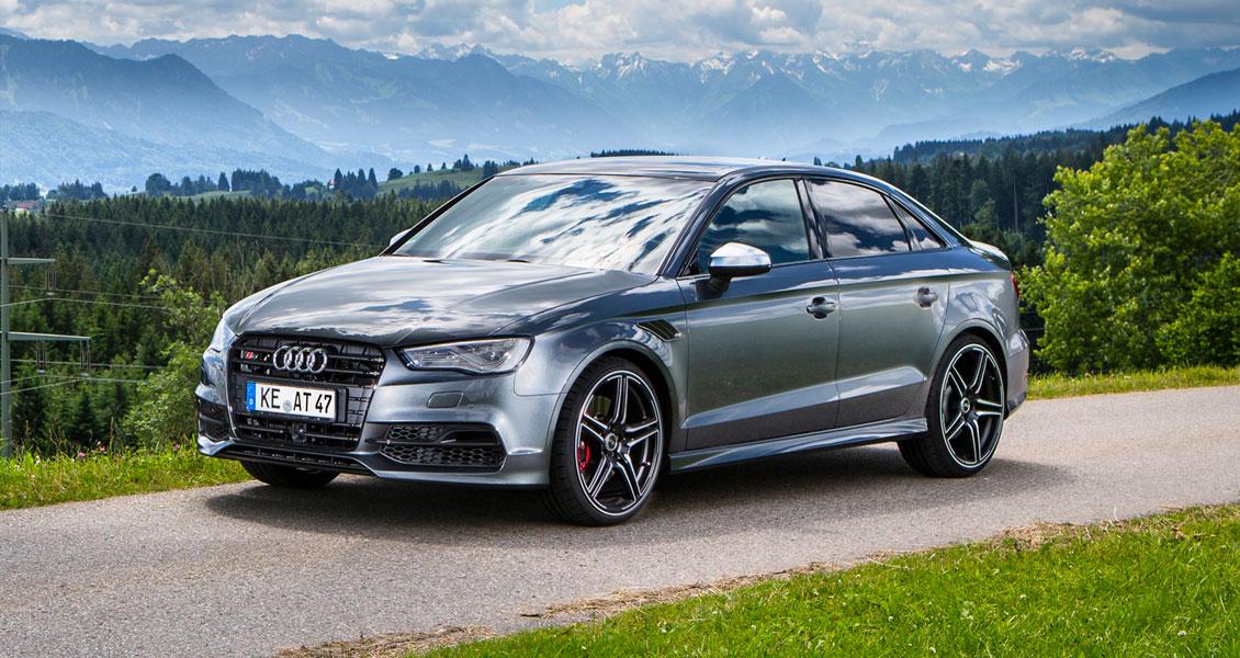 Тюнинг ABT для Audi S3 2018 2017. Обвес, диски, выхлопная система