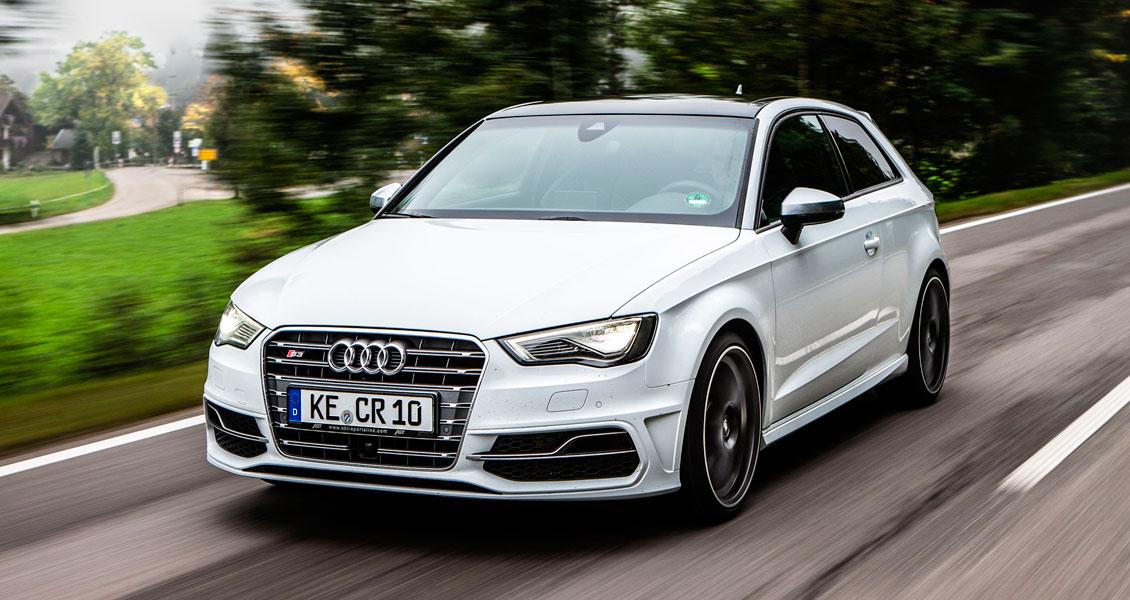 Тюнинг ABT для Audi S3 8V 2016 2015 2014. Обвес, диски, выхлопная система