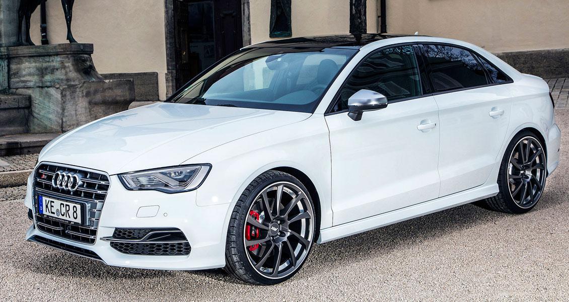 Тюнинг ABT для Audi S3 8V 2018 2017. Обвес, диски, выхлопная система