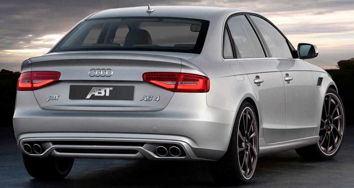 Тюнинг ABT для Audi A4 B8 2015 2014 2013 2012. Обвес, диски, выхлопная система
