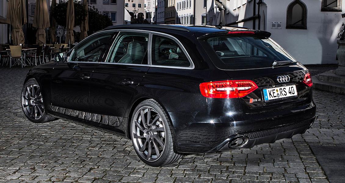 Тюнинг ABT для Audi RS4 B8 2015 2014 2013 2012. Обвес, диски, выхлопная система