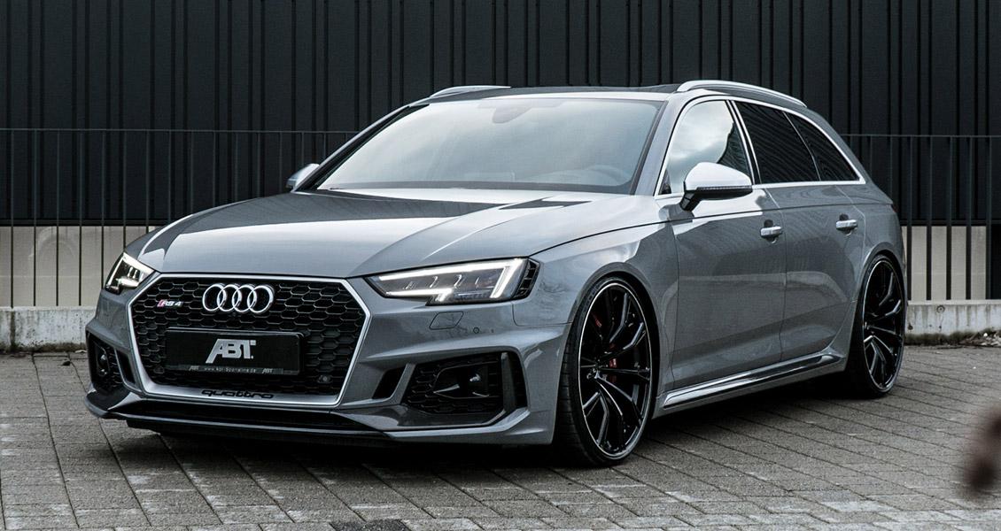 Тюнинг ABT для Audi RS4 B9 2019 2018. Обвес, диски, выхлопная система