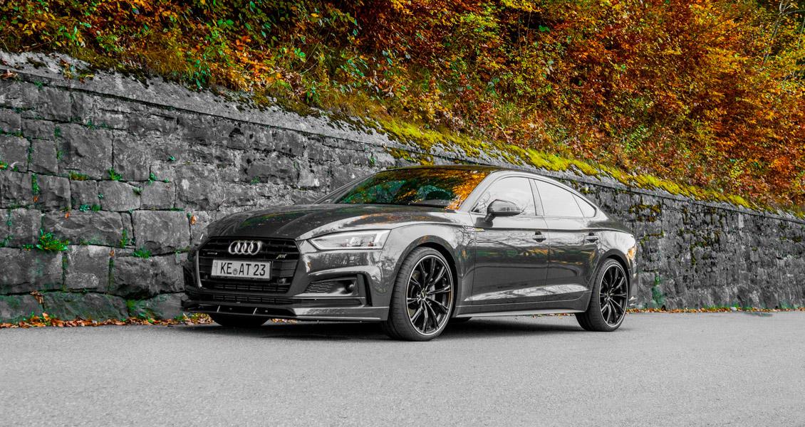 Тюнинг ABT для Audi A5 Sportback 8W 2018 2017. Обвес, диски, выхлопная система