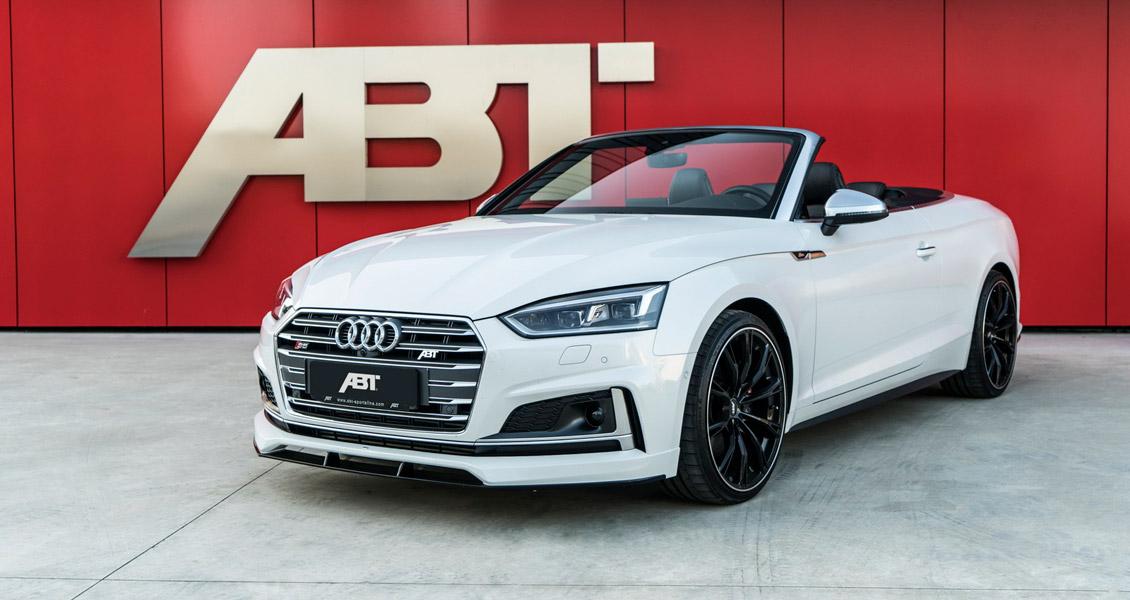 Тюнинг ABT для Audi S5 8W 2018 2017. Обвес, диски, выхлопная система