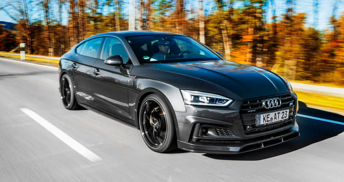 Тюнинг ABT для Audi S5 Sportback 8W 2018 2017. Обвес, диски, выхлопная система