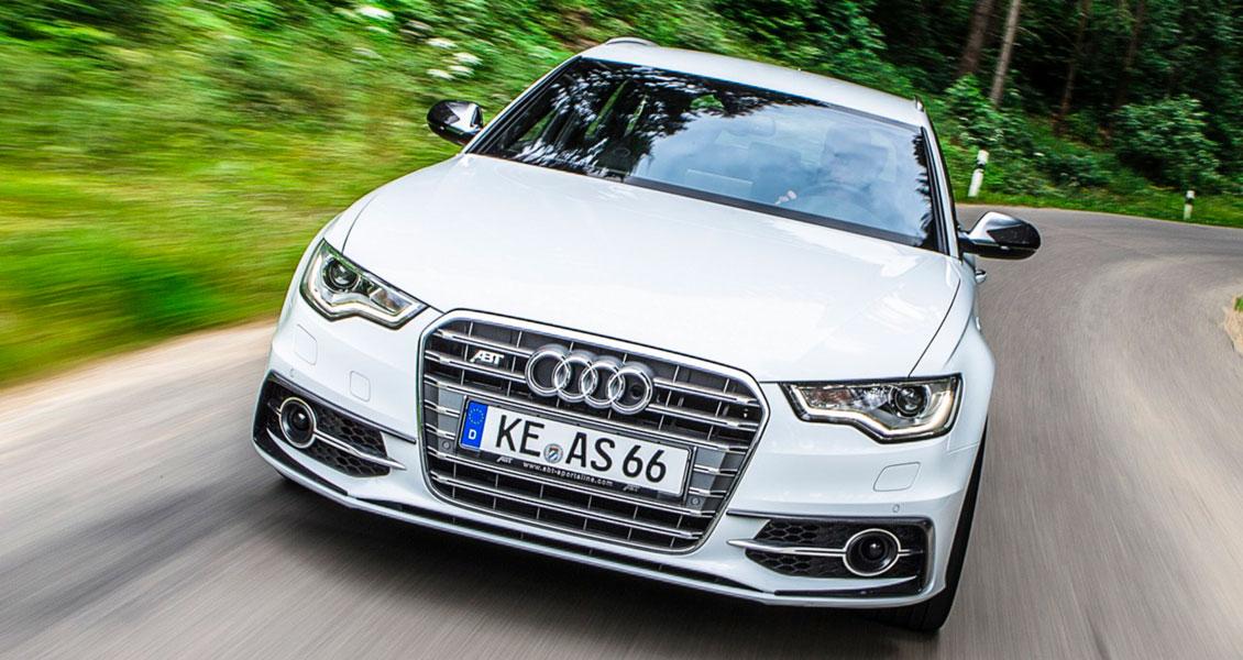 Тюнинг ABT для Audi S6 С7 4G 2014 2013 2012 2011. Обвес, диски, выхлопная система