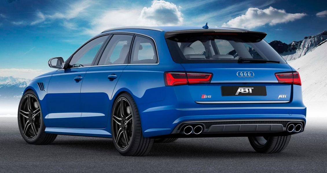 Тюнинг ABT для Audi S6 С7 4G 2018 2017 2016 2015. Обвес, диски, выхлопная система
