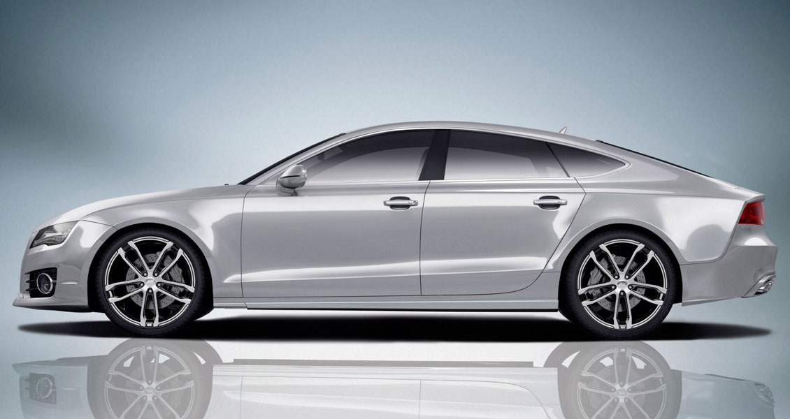 Тюнинг ABT для Audi A7 4G 2014 2013 2012 2011. Обвес, диски, выхлопная система