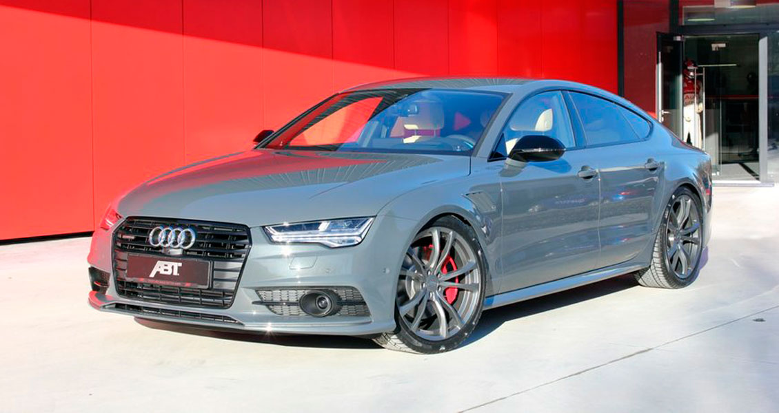 Тюнинг ABT для Audi A7 4G 2018 2017 2016 2015. Обвес, диски, выхлопная система