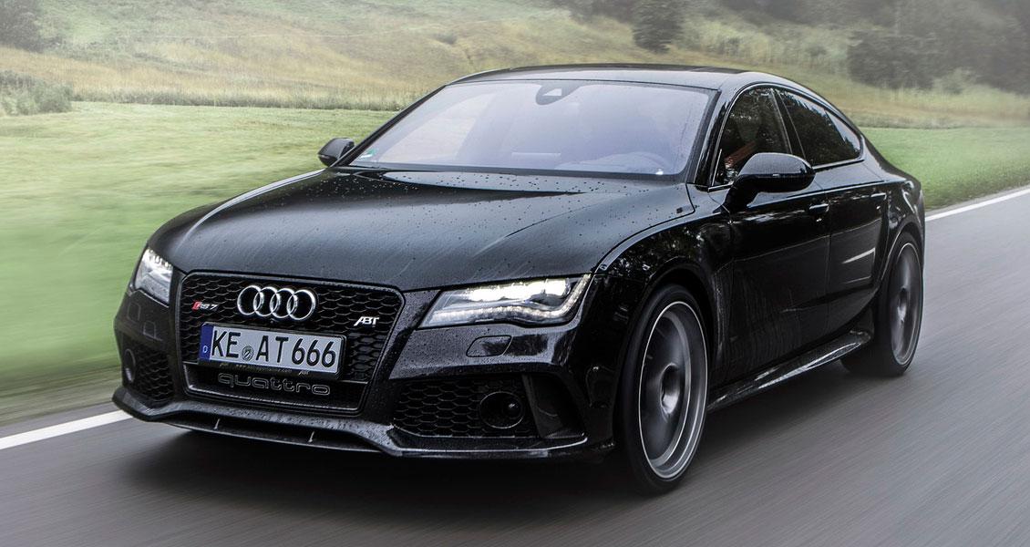 Тюнинг ABT для Audi RS7 4G 2014 2013. Обвес, диски, выхлопная система