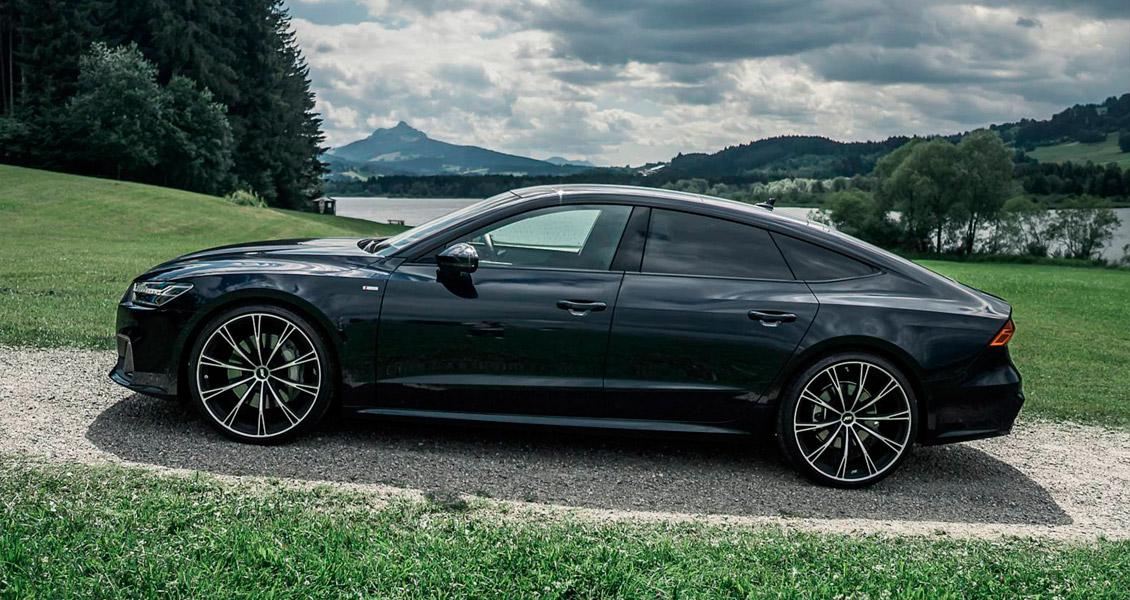 Тюнинг ABT для Audi A7 4K 2019 2018. Обвес, диски, выхлопная система