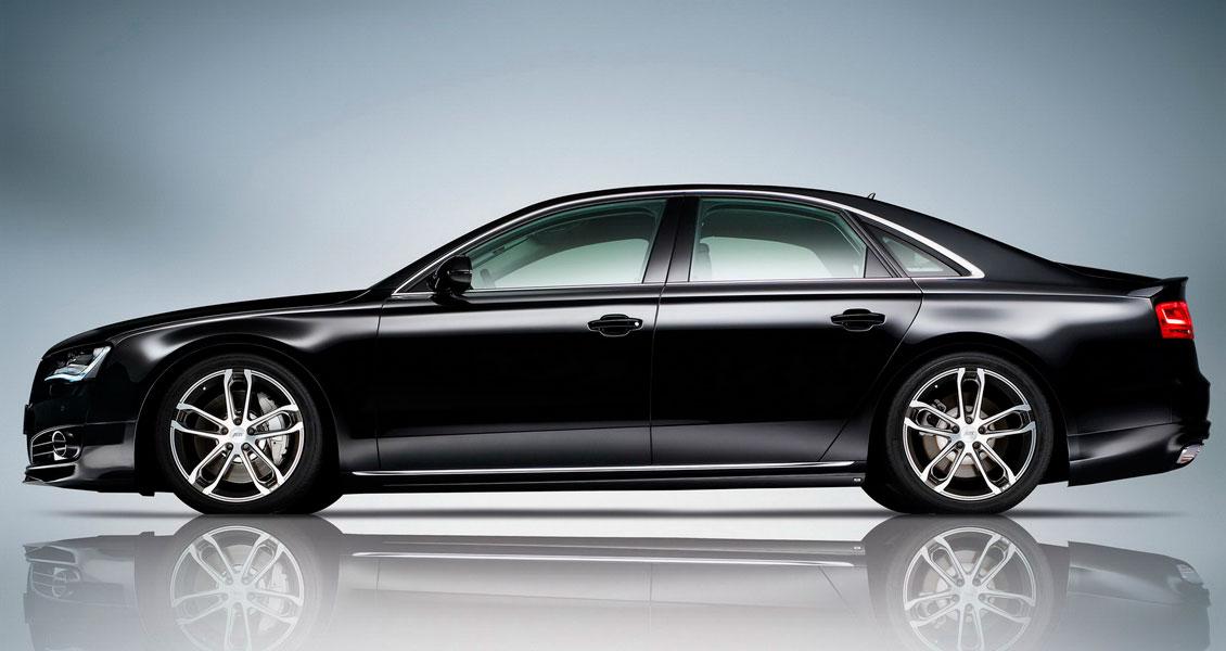 Тюнинг ABT для Audi A8 D4 2013 2012 2011 2010. Обвес, диски, выхлопная система