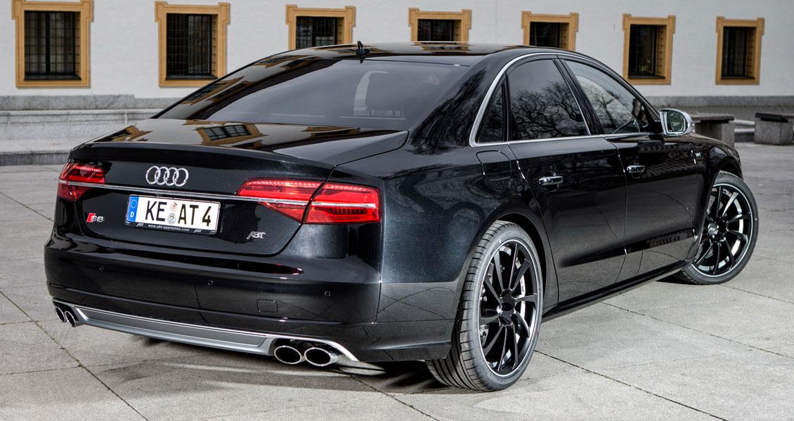 Тюнинг ABT для Audi S8 D4 2017 2016 2015 2014. Обвес, диски, выхлопная система